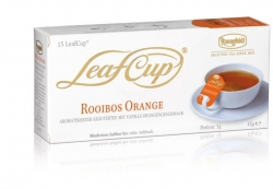 Ronnefeldt LeafCup Cream Orange, 15 porcií